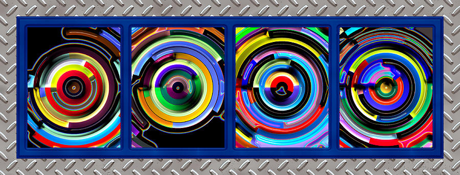 Abstract Digital Art - Circulation by Wendy J St Christopher