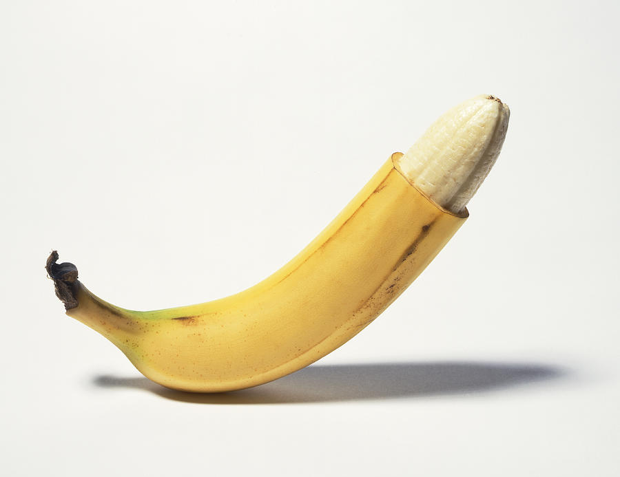 Circumcised Banana Photograph by Stuartpitkin