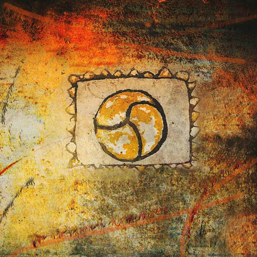 Circle Digital Art - Circumvolve by Kandy Hurley
