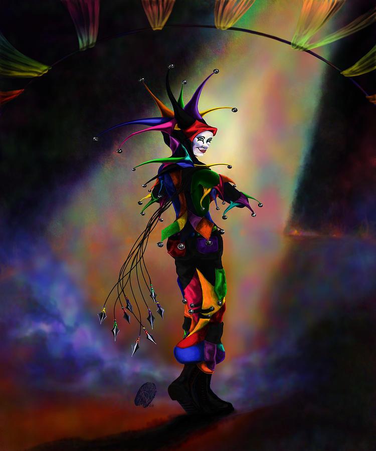 Icp Digital Art - Cat O Nine Tails by Kd Neeley