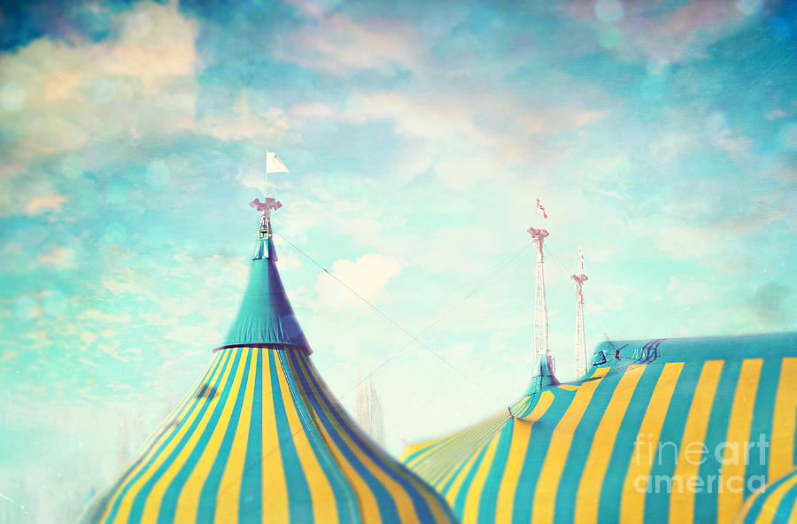 Circus Tent Photograph By Sylvia Cook