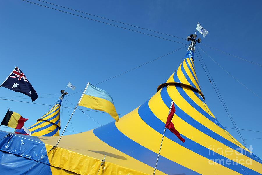 Cirque Du Soleil Photograph - Cirque Du Soleil Montreal by Ros Drinkwater