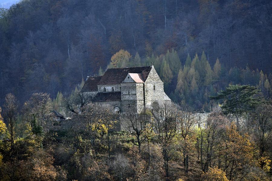 Sibiu Photograph - Cisnadioara Michelsberg Siebenbuerger medieval Castle by Adrian Bud