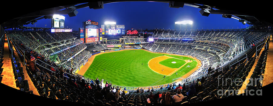 Citi Field And The New York Mets Photograph