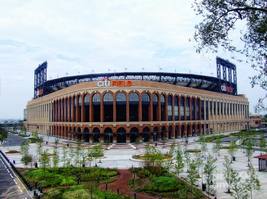 Citi Field Baseball Stadium Photograph