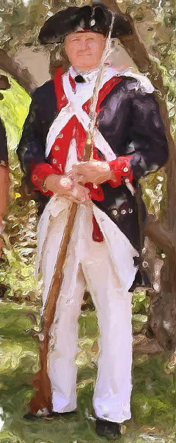 American Painting - Citizen Soldier Nbr 1 by Will Barger