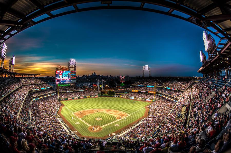 Phillies Photograph - Citizens Bank Park by JD Ollis