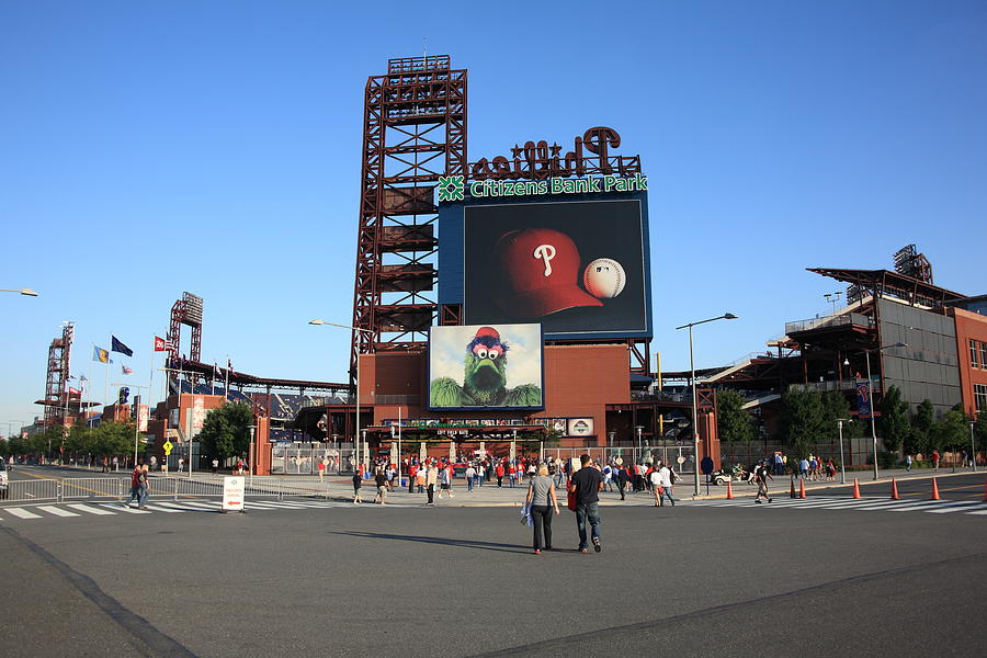 America Photograph - Citizens Bank Park - Philadelphia Phillies by Frank Romeo