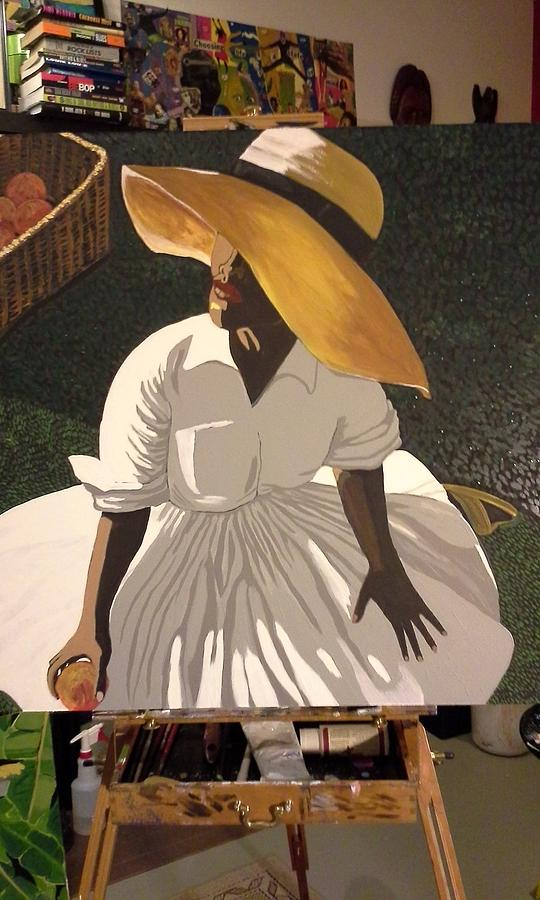 Hat Painting - Citrus Sunshine by Otis L Stanley