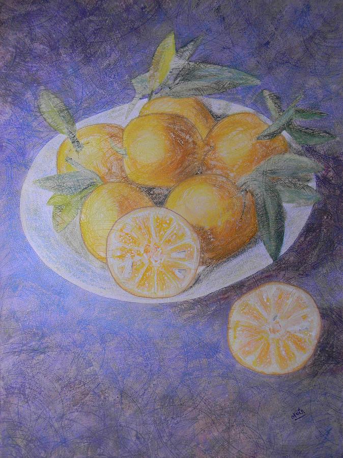 Citrus Painting - Citrus by Adel Nemeth