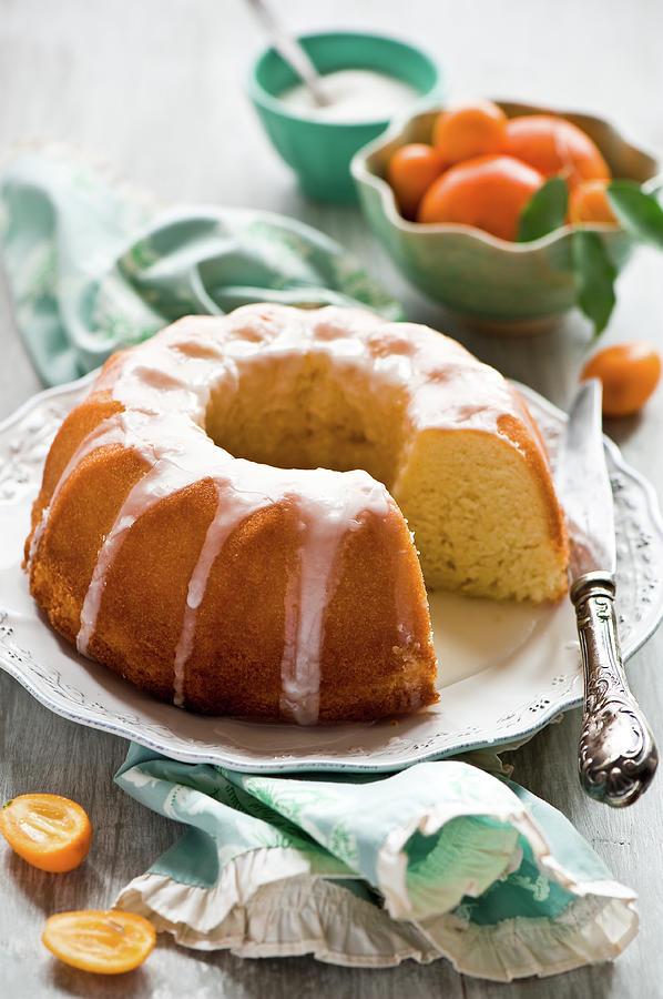 Citrus Cake Photograph by Verdina Anna