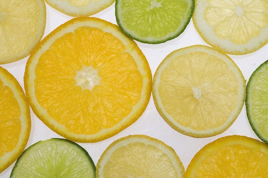 Citrus Photograph - Citrus Slices by Kelly Redinger