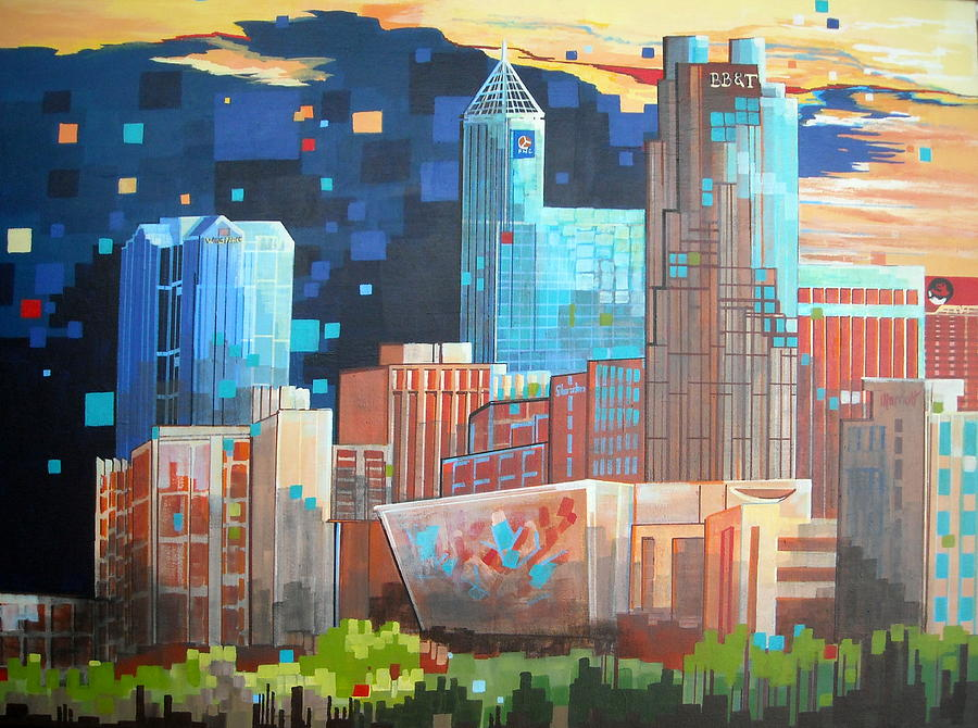 Image result for Raleigh Painting
