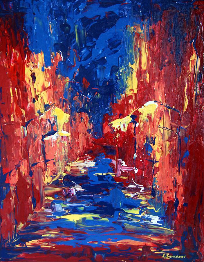 City Painting - City  by Alena Samsonov
