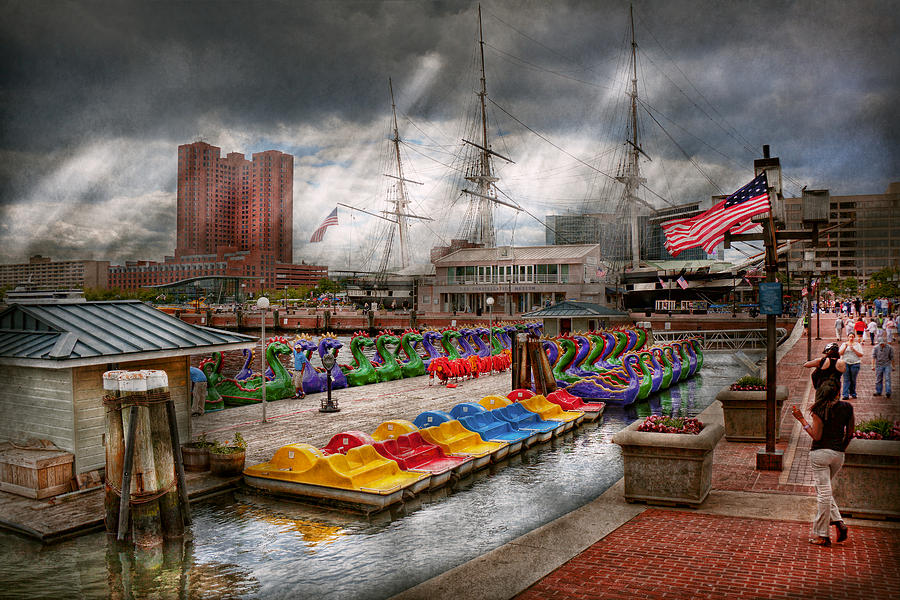 Baltimore Photograph - City - Baltimore Md - Modern Maryland by Mike Savad