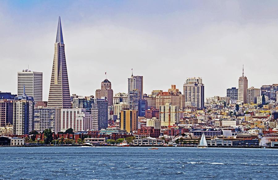 San Francisco Photograph - City By The Bay by Sindi June Short