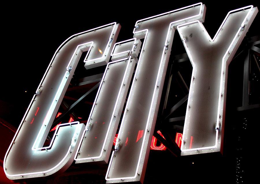 City Photograph - City by Caroline Lomeli