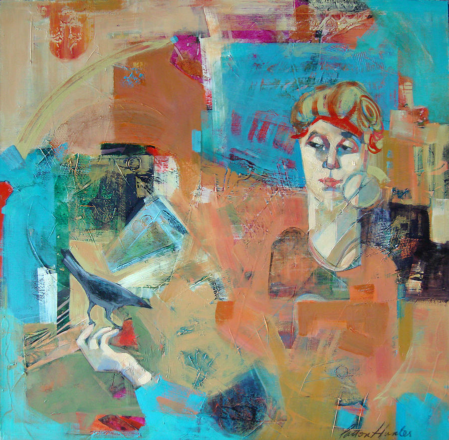 Abstract Painting - City Girl by Patton Hunter