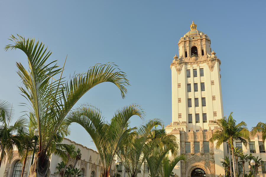 City Hall In Beverly Hill Photograph by Aimin  Tang