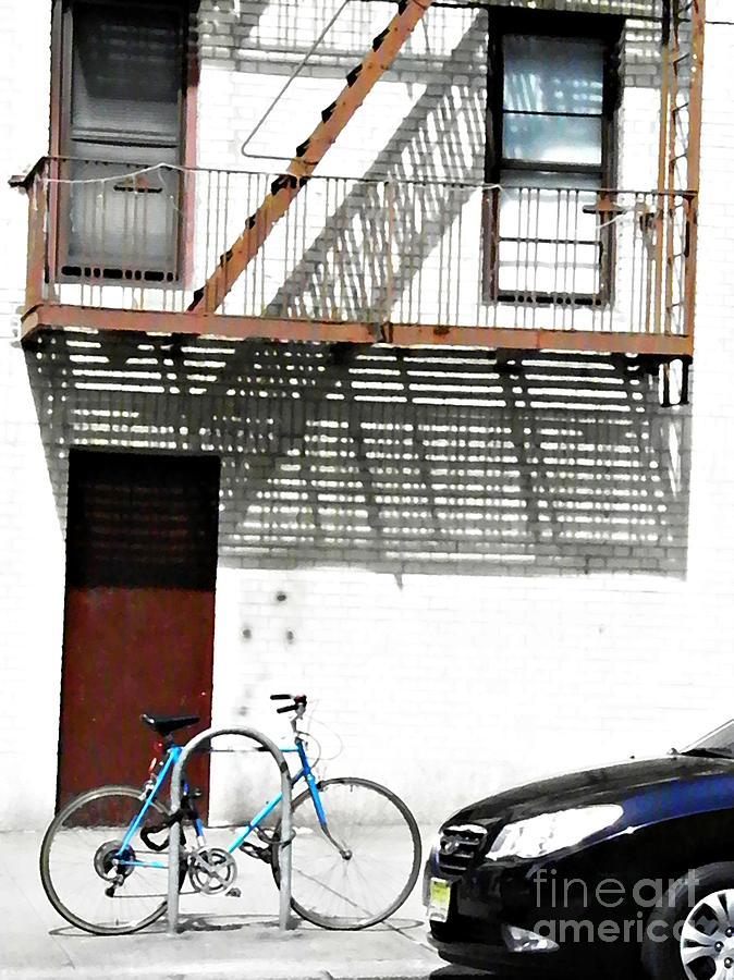 Apartment Building Photograph - City Home by Sarah Loft
