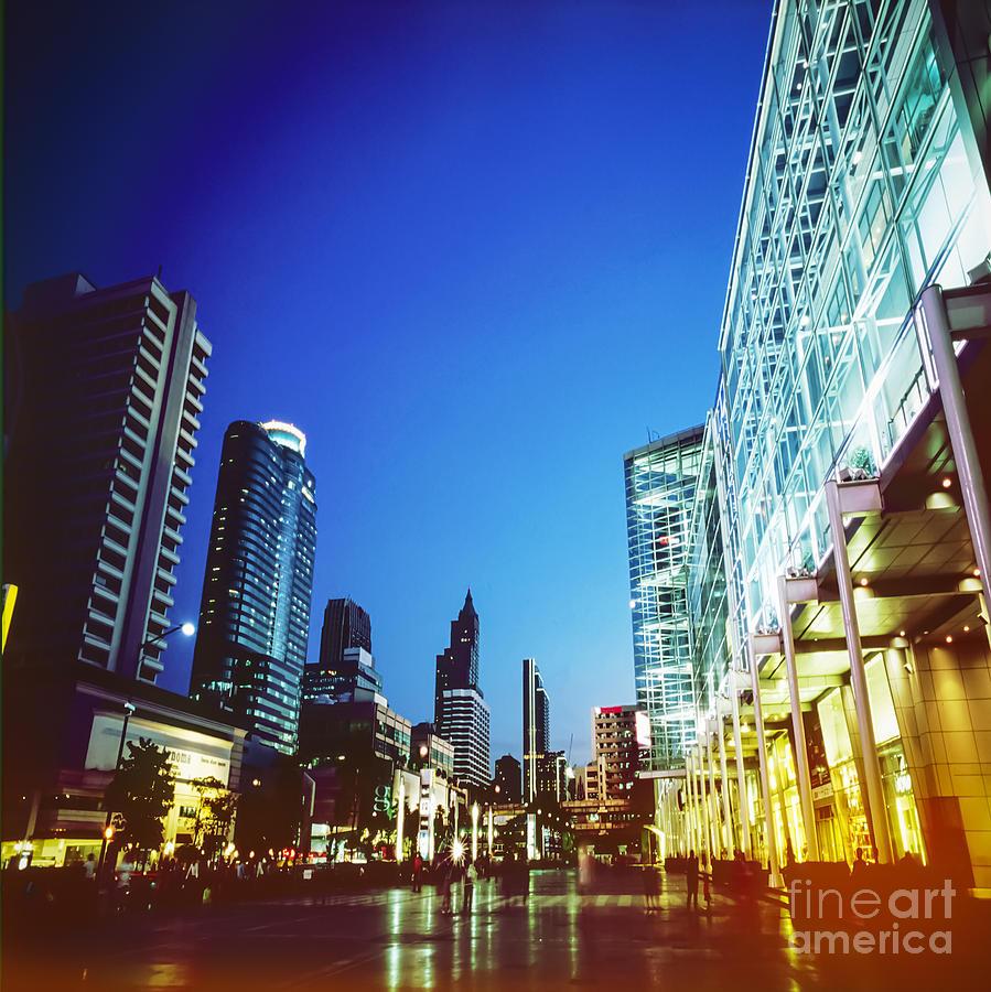 Bangkok Photograph - City In Twilight by Setsiri Silapasuwanchai
