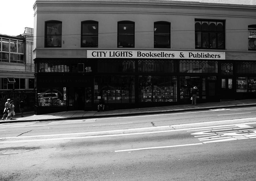 San Francisco Photograph - City Lights Booksellers by Aidan Moran