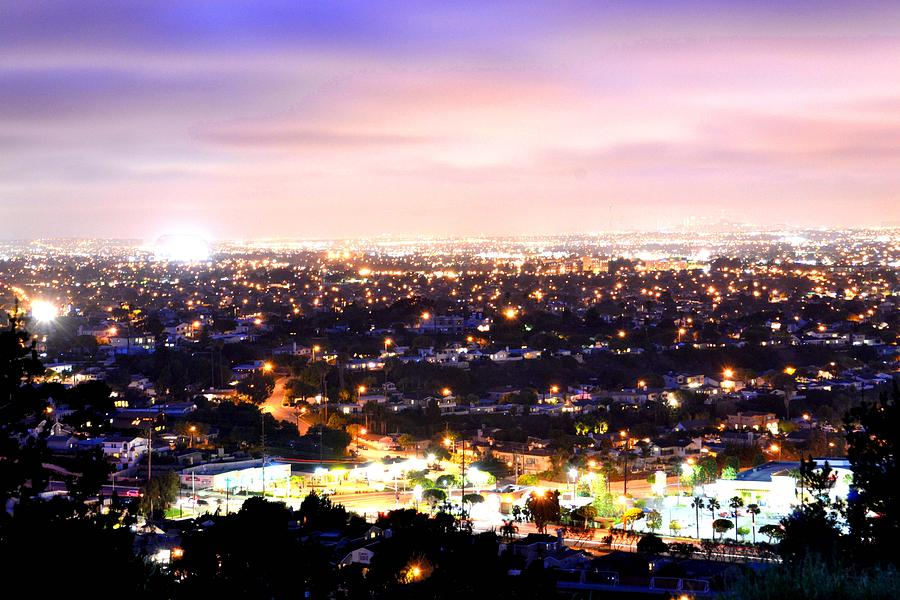 City Photograph - City Lights by Brandon Garcia
