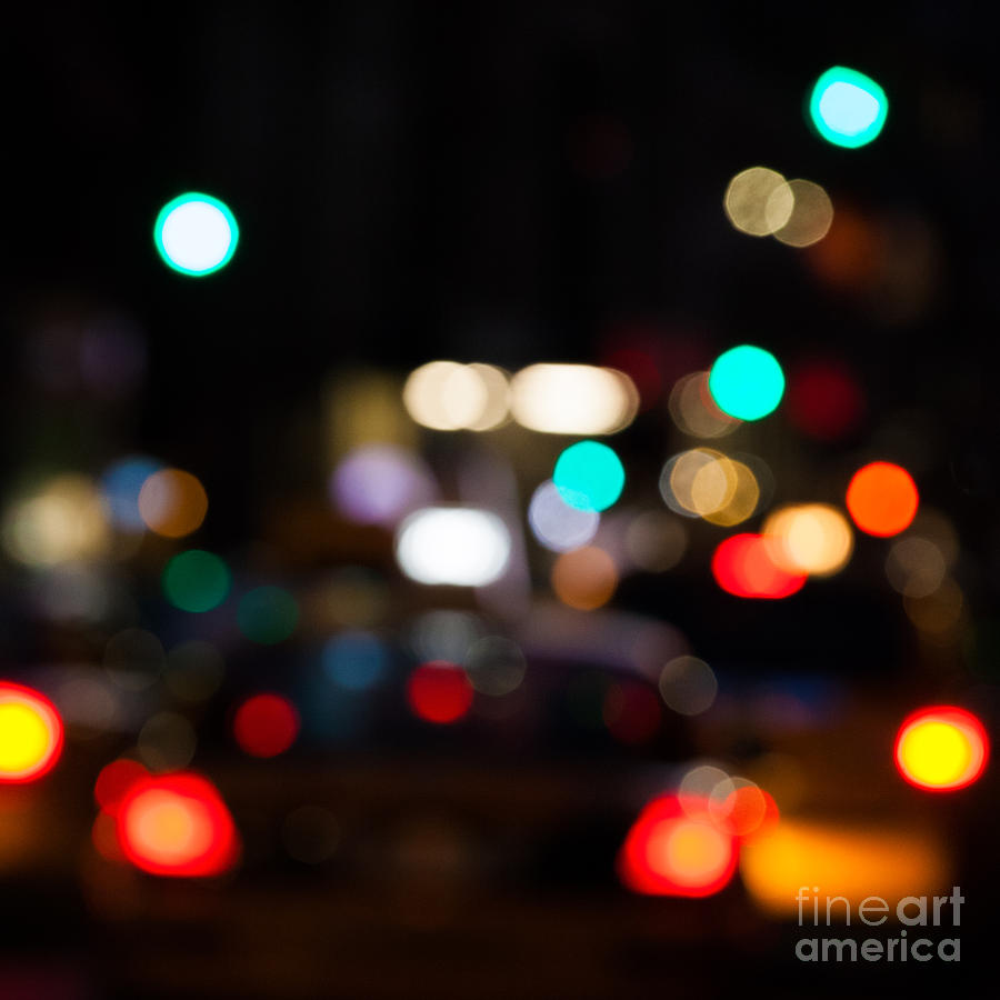 Bokeh Photograph - City Lights  by John Farnan