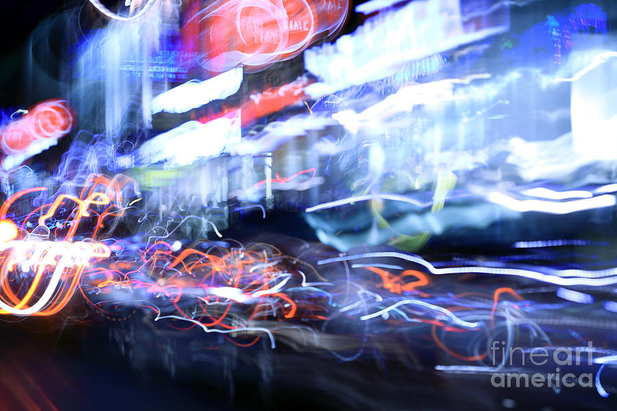 Abstract Photograph - City Motion 6092 by Igor Kislev