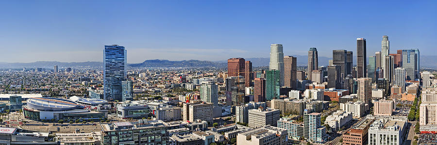 Los Angeles Photograph - City Of Angels by Kelley King