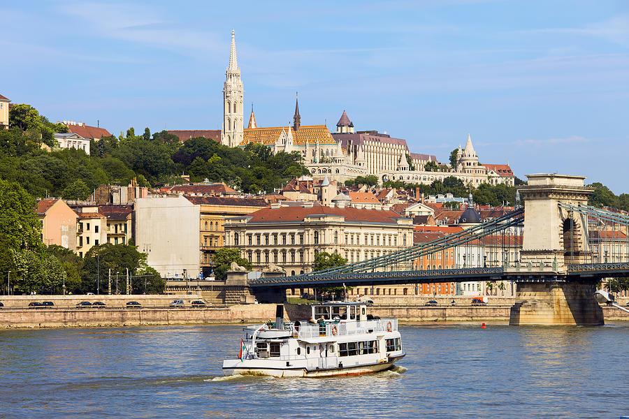 Budapest Photograph - City Of Budapest by Artur Bogacki