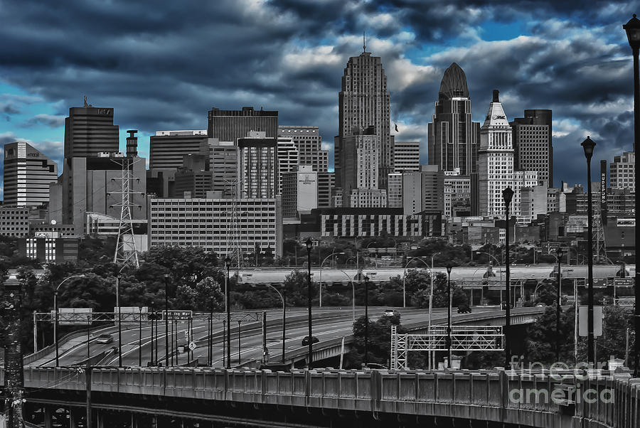 City Of Color Photograph by Steve Johnson