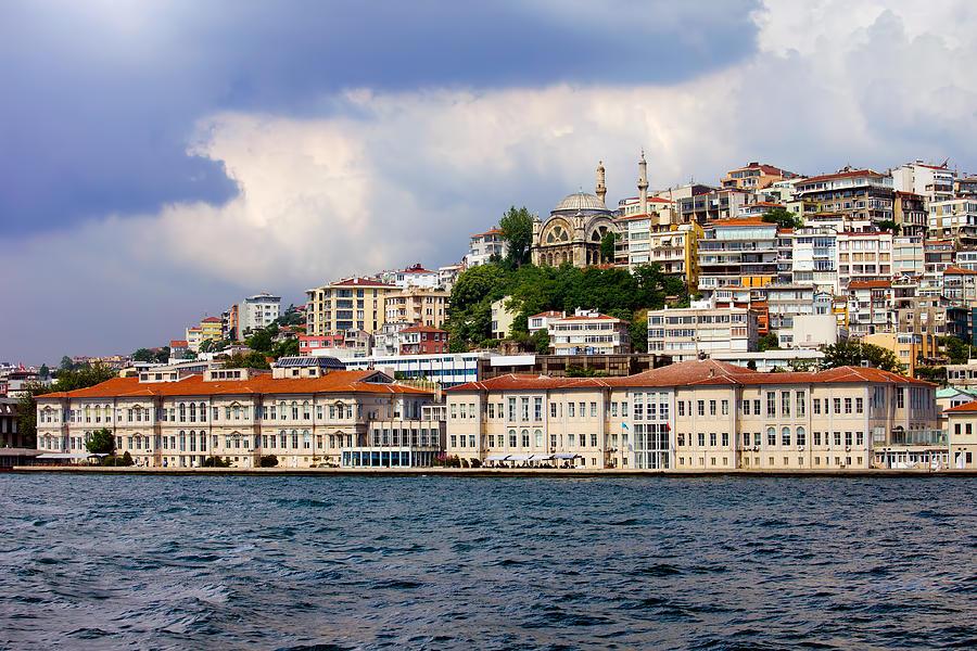 Mimar Photograph - City Of Istanbul Cityscape by Artur Bogacki