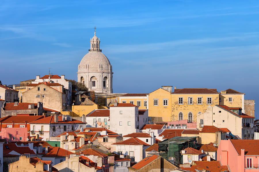 Lisbon Photograph - City Of Lisbon In Portugal by Artur Bogacki