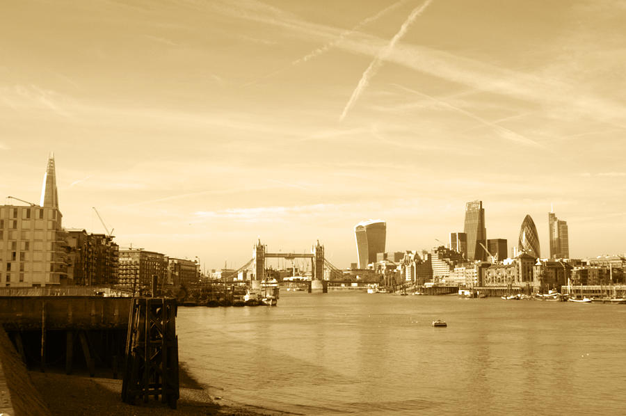 City Of London Skyline Photograph
