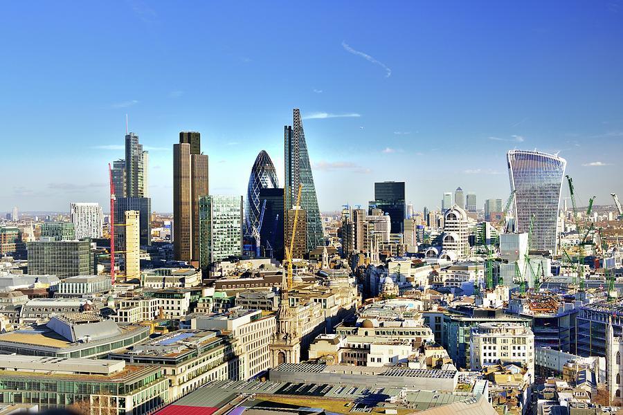 City Of London Skyline Photograph by Vladimir Zakharov