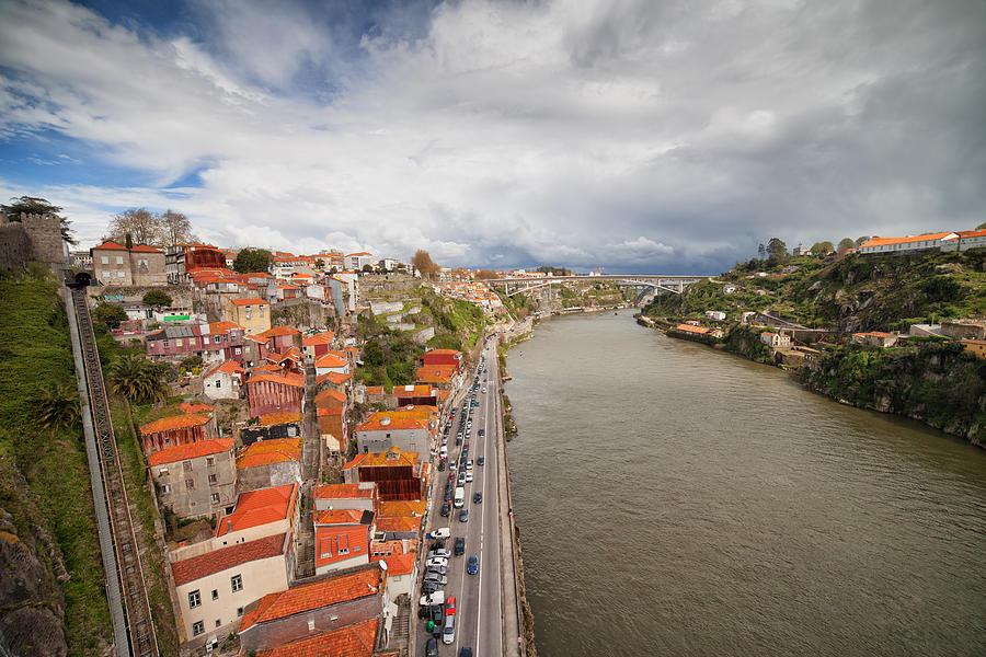 Porto Photograph - City Of Porto In Portugal by Artur Bogacki