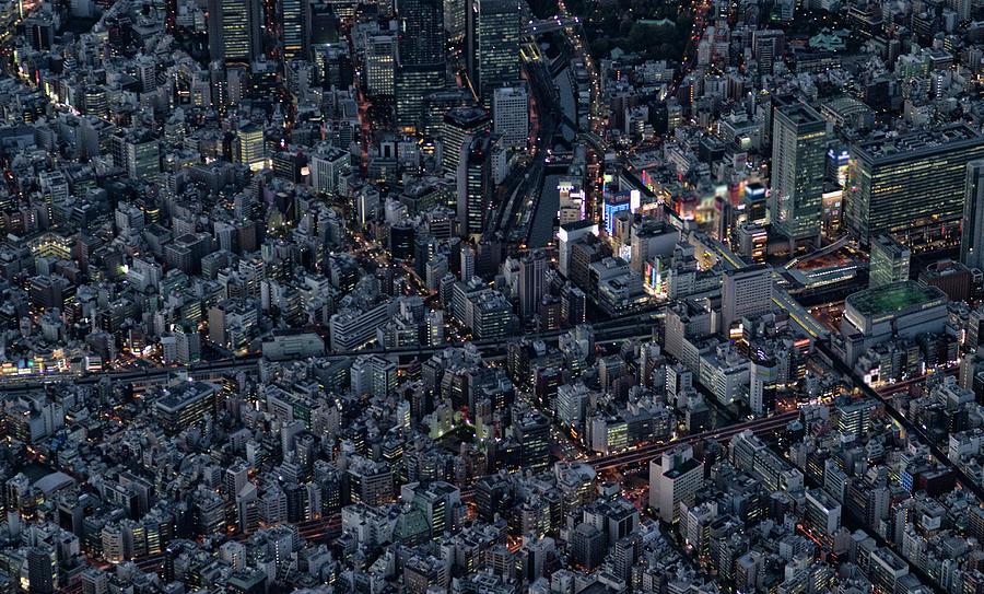 City Of The Beautiful Night View Photograph by Kokouu