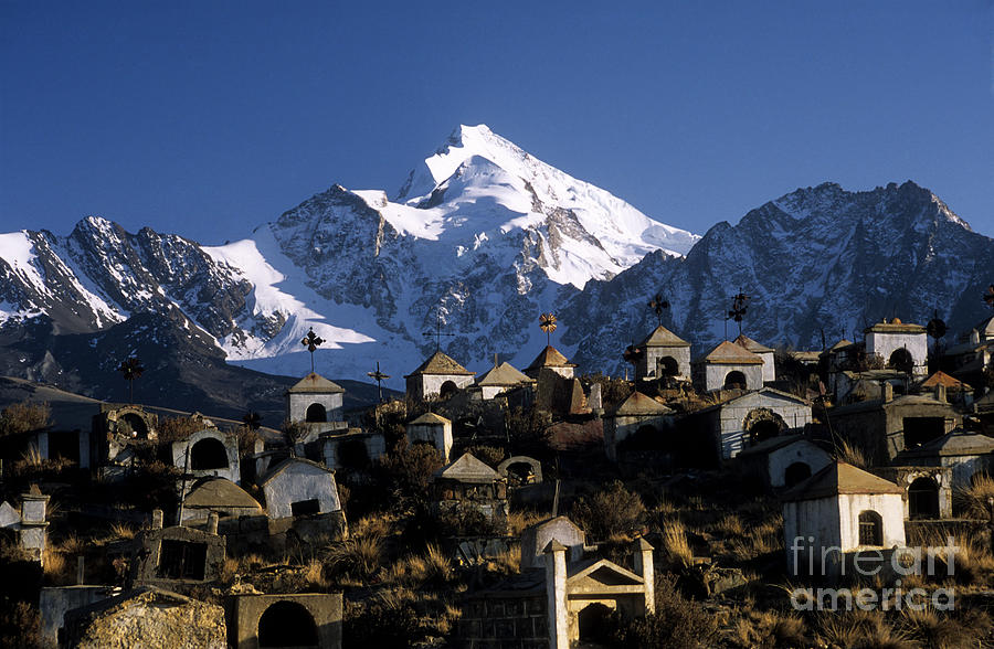 Bolivia Photograph - City Of The Dead by James Brunker