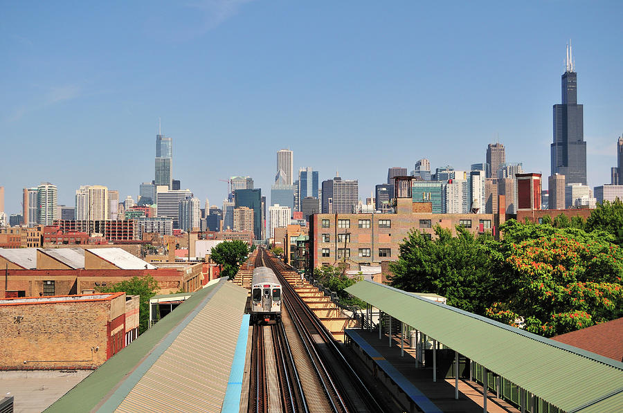 City Panoramic Photograph by Bruce Leighty