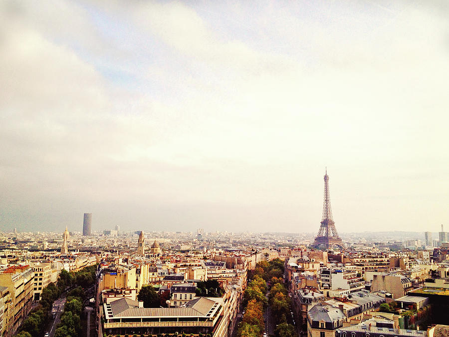 City Paris Photograph by M Swiet Productions