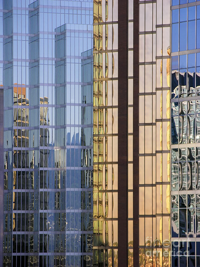 Urban Photograph - City Reflections by Sandra Bronstein