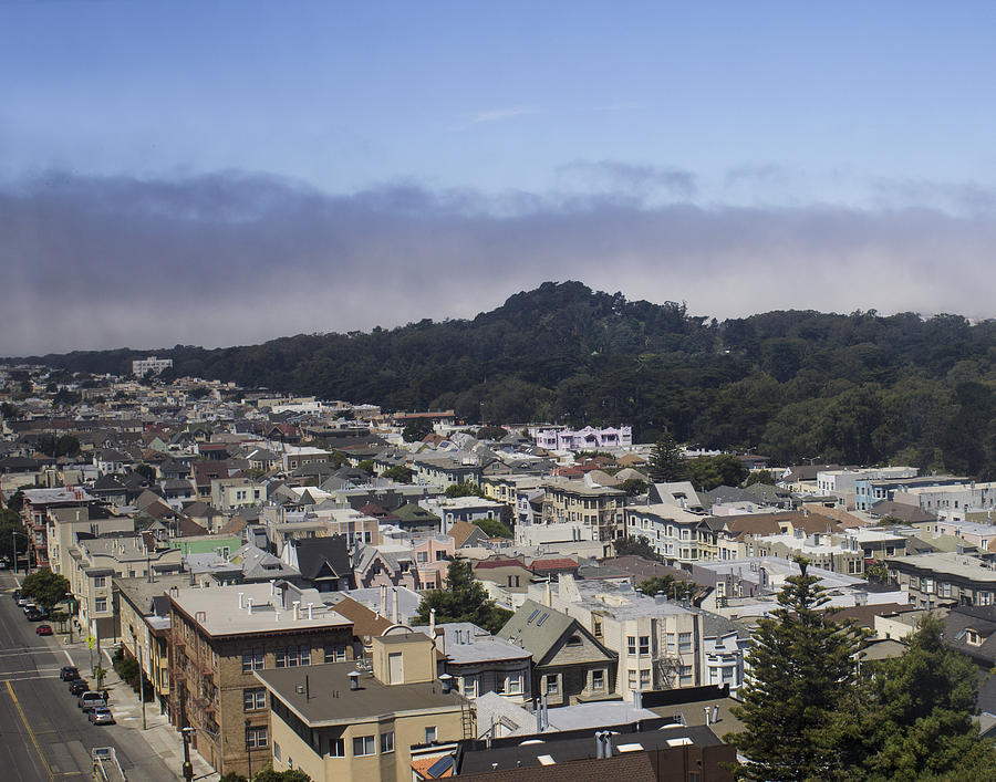 San Francisco Photograph - City Scape by Dee  Savage