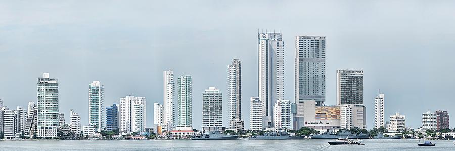 Horizontal Photograph - City Skyline, Bocagrande, Cartagena by Panoramic Images
