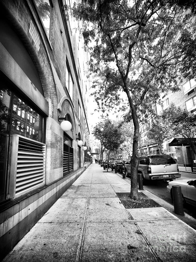 City Street Photograph - City Street by John Rizzuto