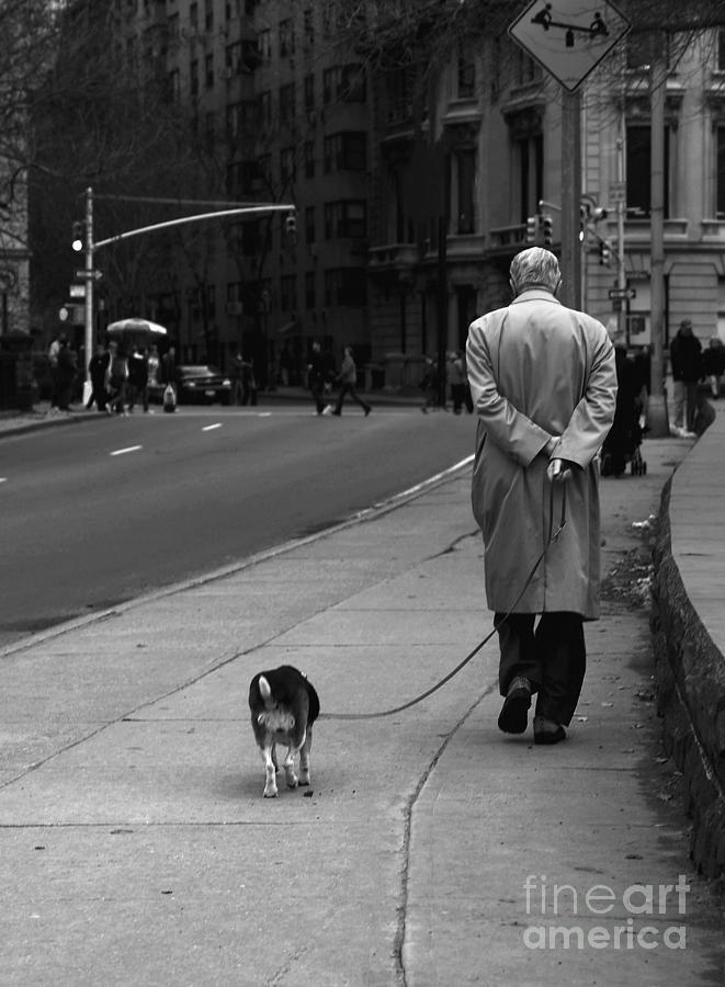 New York City Photograph - City Walk by Diane Diederich