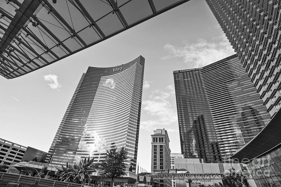 Citycenter - View Of The Vdara Hotel And Spa Located In Citycenter In Las Vegas Photograph