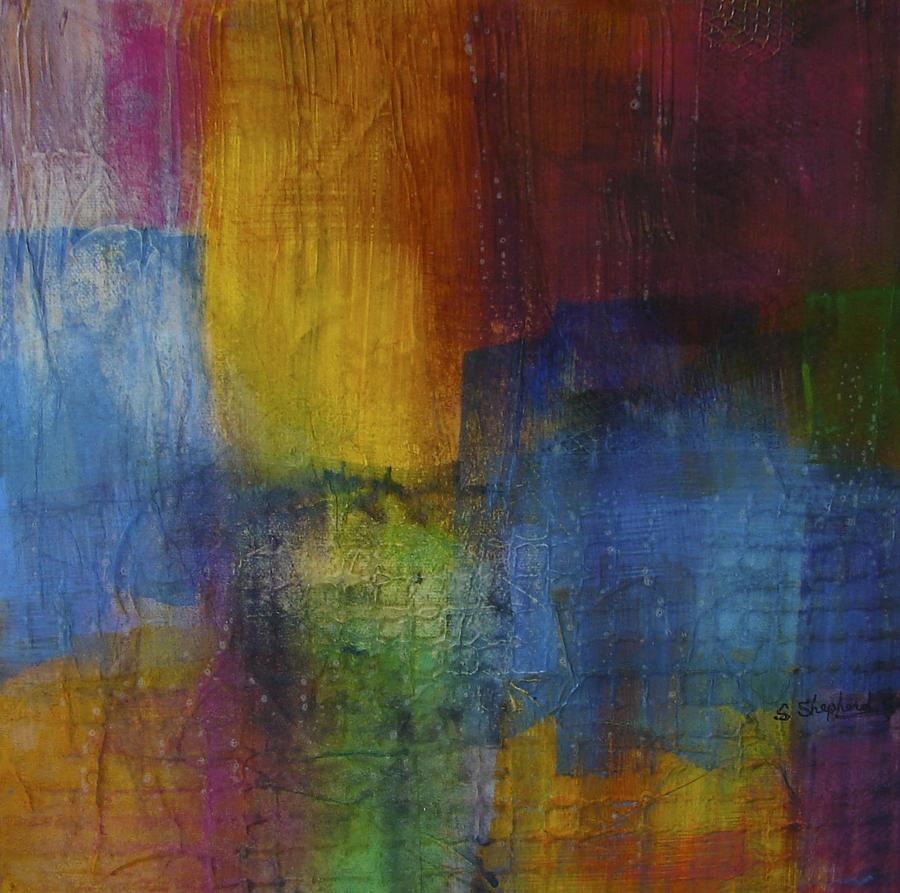 Cityscape Painting - Cityscape I by Shirley Shepherd