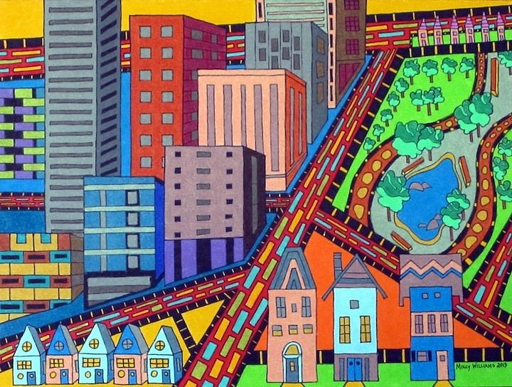 Cityscape by Molly Williams