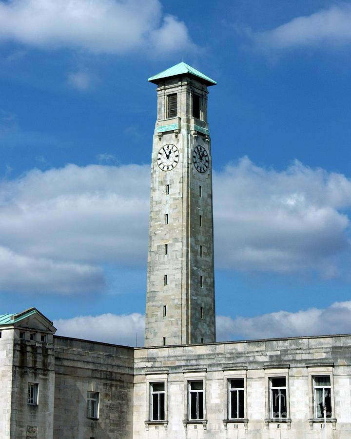 Southampton Photograph - Civic Centre Southampton by Terri Waters